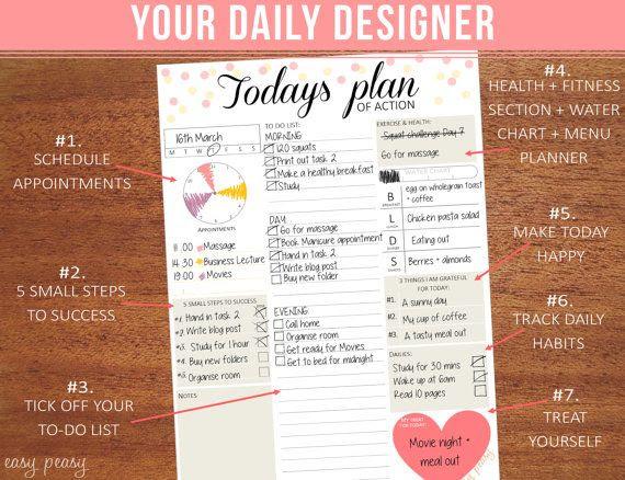 Daily Planner Organizer
