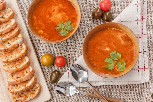 Indian Tomato Soup Recipe