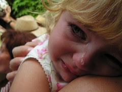 Juliette en larmes