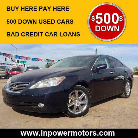 500 Down Used Cars Phoenix | No Credit - In Power Motors, LLC