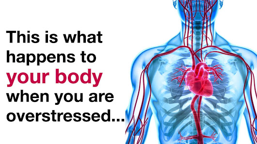 This Is What Happens To Your Body When You're Overstressed