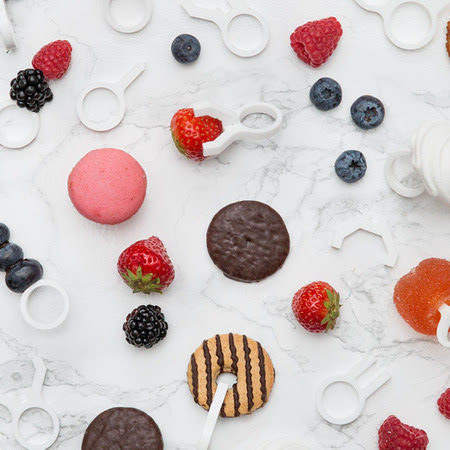 3D-Printed Rings Display Assorted Desserts as Jewelry | 3DP4E