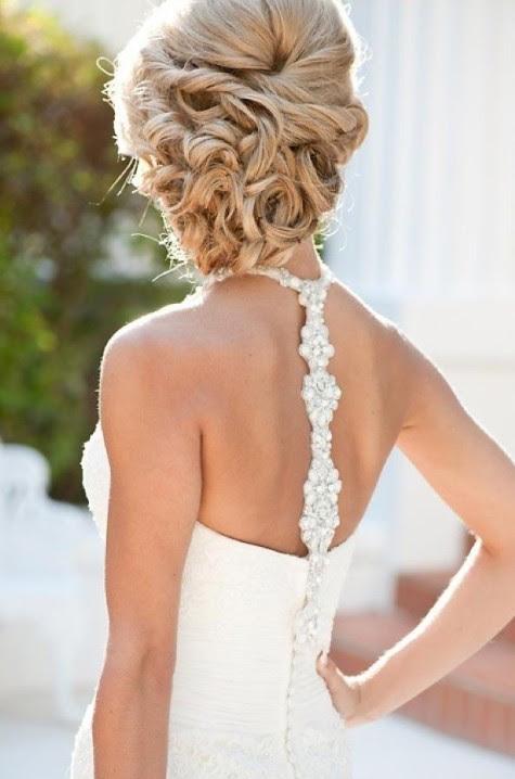 Beautiful Wedding  Updos  for Long Hair Pretty Designs