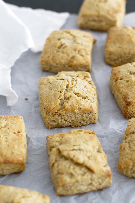 Lemon Poppy Seed Biscuits