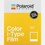 Polaroid Originals Color i-Type Instant Film Exposures, White - 8 count