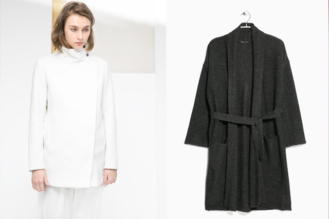 Christmas presents and gifts. Blogpost by fashion blogger turn it inside out from belgium. Mango wool robe coat dark grey, mango white coat