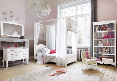 Romantic bedroom curtains - Romantic touch - Interior design