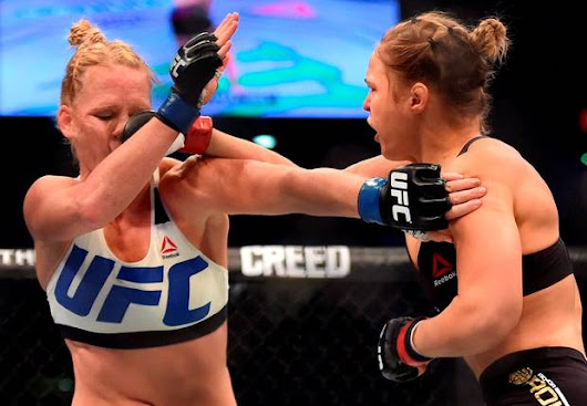 Former WWE Star Taz: The Ronda Rousey Vs. Holly Holm Fight Was Fixed