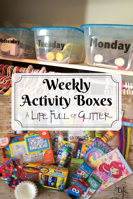 Weekly Activity Boxes
