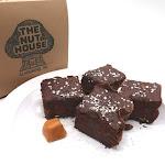 Dark Chocolate Caramel Sea Salt Fudge - 1 lb.