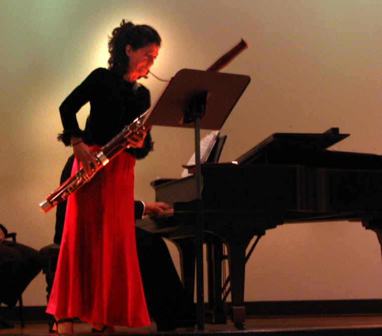 Sue Heineman on bassoon