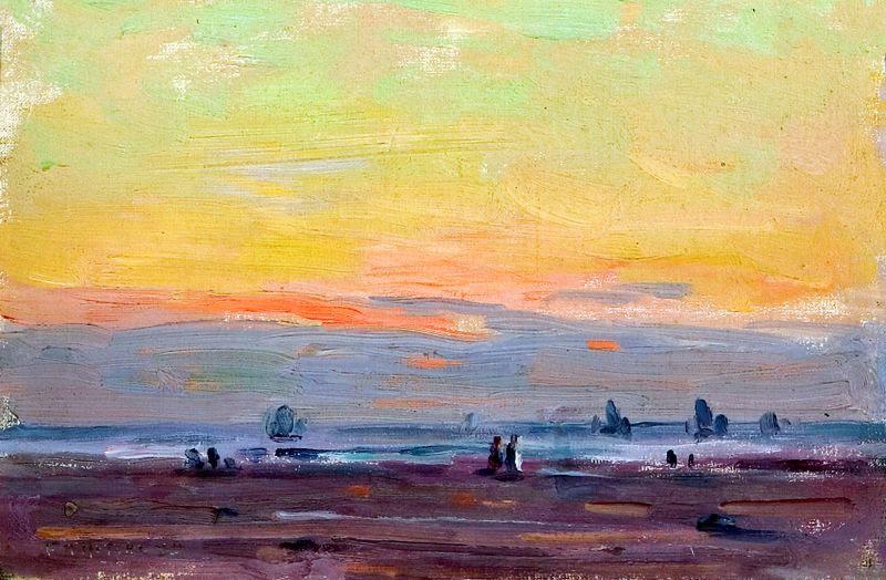 Sunset Along The Coast