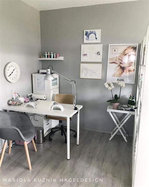 nice small space nail technician room idea home nail