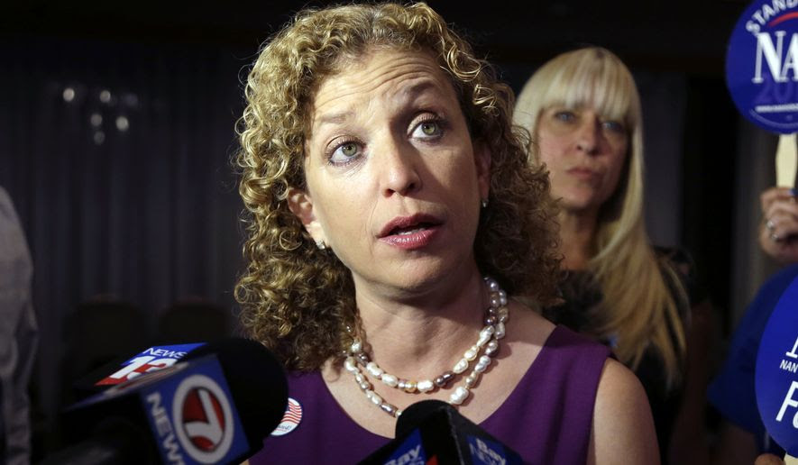 Debbie Wasserman Schultz was widely criticized during the Democratic primary by supporters of Bernie Sanders of using her position at the DNC to tip the race toward Hillary Clinton. (Associated Press)