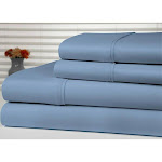 Alphabetdeal Bamboo Luxury 1800 Count Solid Sheet Set - 4 Pieces