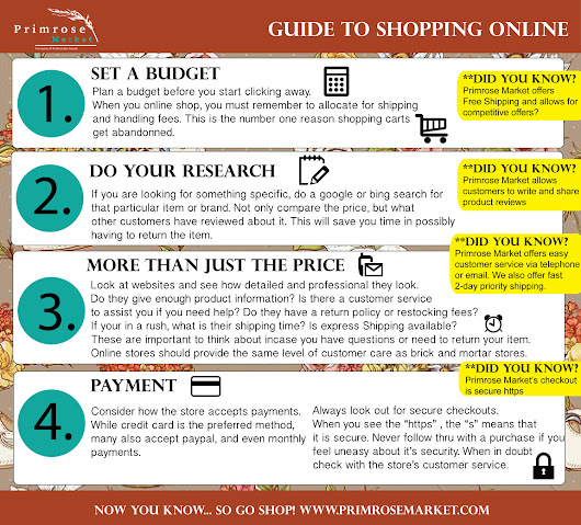 Primrose Market- Guide to Shopping Online