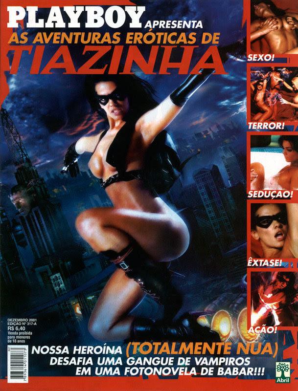 As aventuras eróticas de Tiazinha