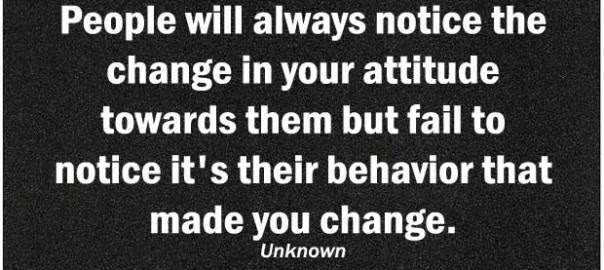 Quotes About Attitude And Behavior 44 Quotes