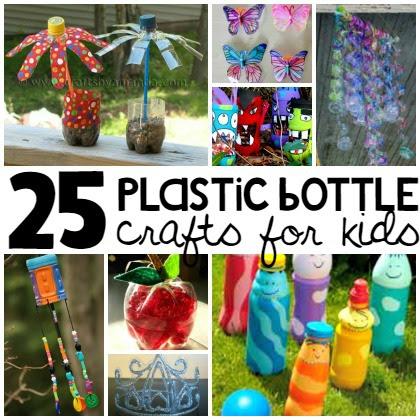 25 Plastic Bottle Crafts For Kids