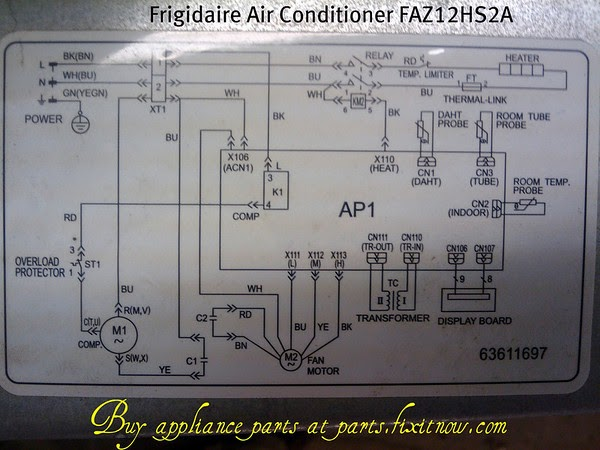 ruud central air conditioners wiring diagram ruud air conditioner parts list wiring diagram Carrier Thermostat Wiring Venstar Wireless Thermostat Wi-Fi