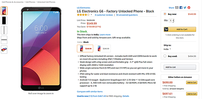 https://www.amazon.com/LG-Electronics-G6-Factory-Unlocked/dp/B06XYRS7CT