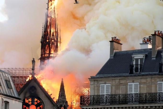 Não há informações sobre feridos em Notre-Dame, diz governo Francês