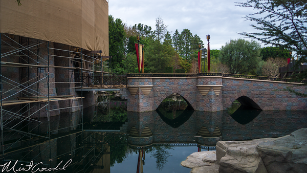Disneyland Resort, Disneyland, Hub, Partners, Statue, Sleeping Beauty Castle, Moat, Refurbishment, Refurbish, Refurb, Disneyland60