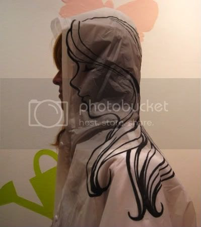 Plastic Raincoat by Gene HO 2