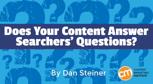 Does Your Content Answer Searchers' Questions?