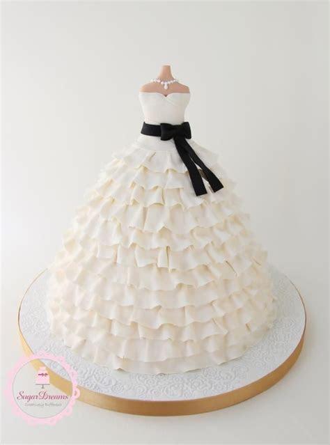 17 Best ideas about Dress Cake on Pinterest   Wedding