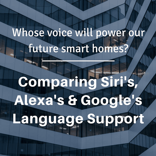 Language Support in Voice Assistants Compared | Globalme