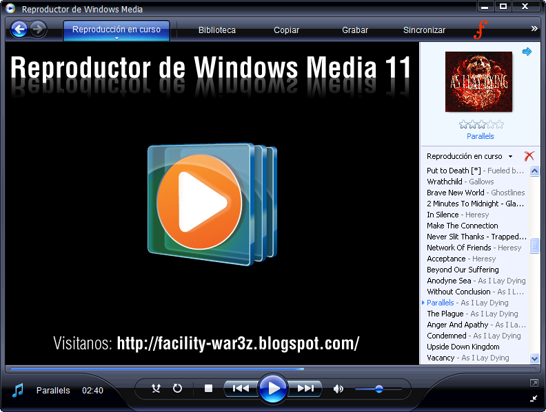 Windows media player 11 (windows) descargar.
