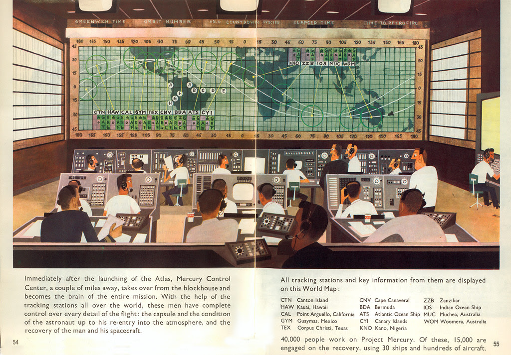 This is Cape Canaveral: Control center