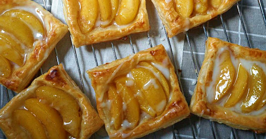 Cinnamon Peach Tart Recipe