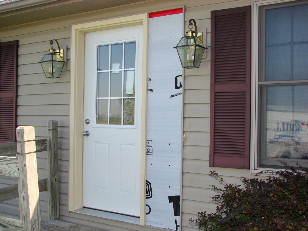 Exterior Door Jamb Extension Kit