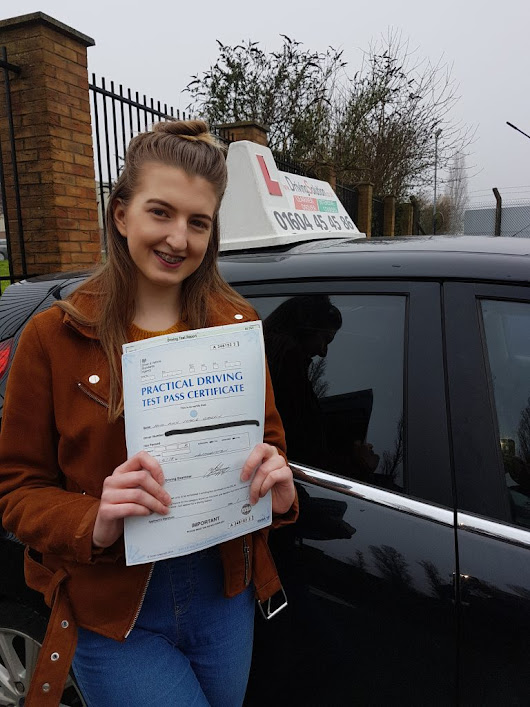 Intensive driving lessons Northampton - Amy's review