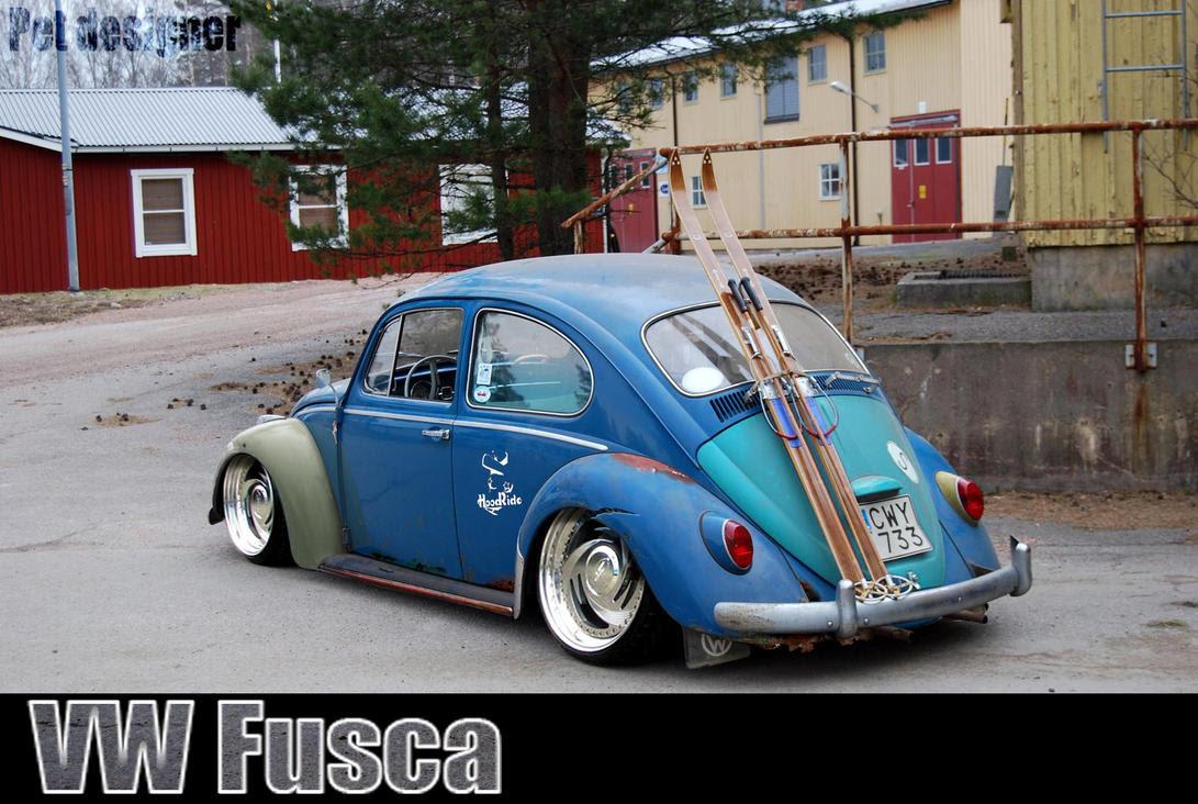 VW Fusca HoodRide by