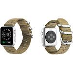 Aduro Nylon Buckle Band for Apple Watch Series 1, 2, 3, & 4 38/40 / Beige