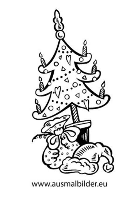 ausmalbilder weihnachten baum  kostenlose malvorlagen ideen