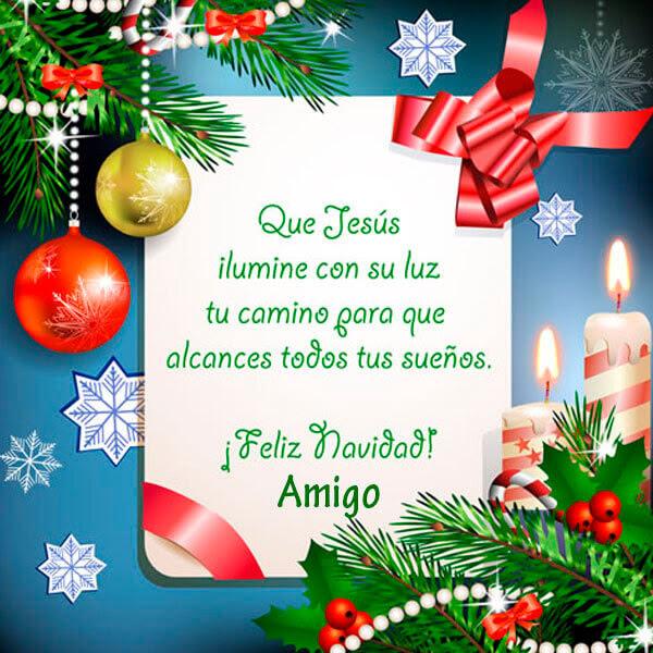 Lindo Mensaje De Una Feliz Navidad Para Amigos Imagenes De Puro Amor