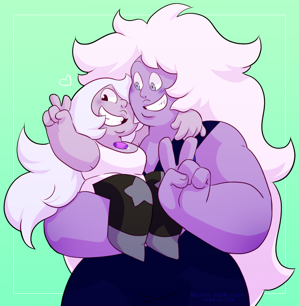 Amethyst and 8XL ♡