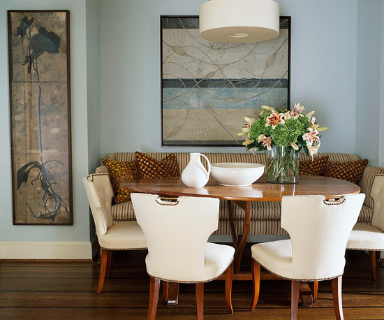 Examples of dining rooms in small-spaces - ArchitectureArtDesigns.