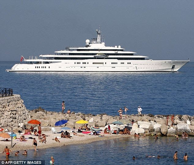Climateer Investing: This port ain't big enough for the both of us: Roman Abramovich's $1bn yacht refused mooring at Antibes