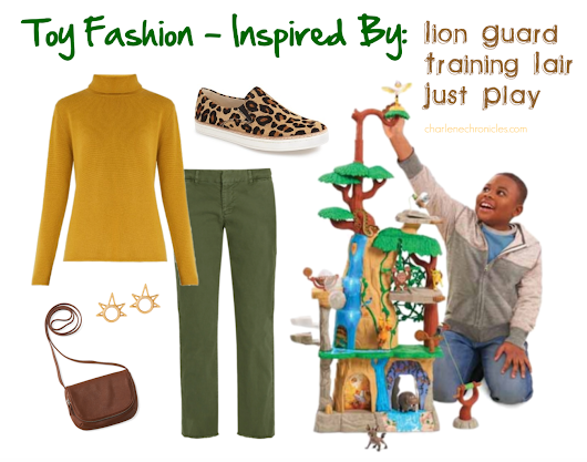 Toy Fashion: Lion Guard Training Lair - Charlene Chronicles