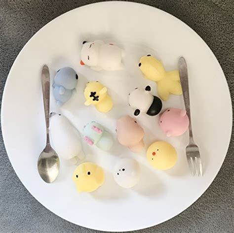 mochi squishies cute alled  pcs mini squeeze toys soft