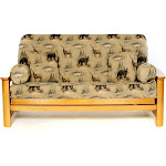 LS Covers Woodlands Full Futon Cover Fits Mattress 54x75 x 6 to 8