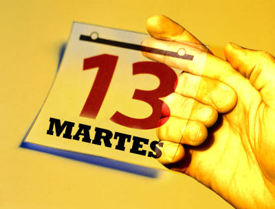 Martes 13. No te cases ni te embarques...