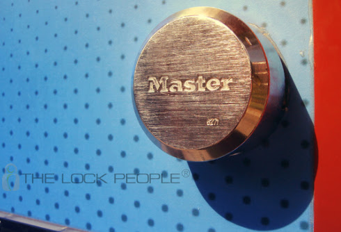 What is a Master Lock® Hidden Shackle Padlock?