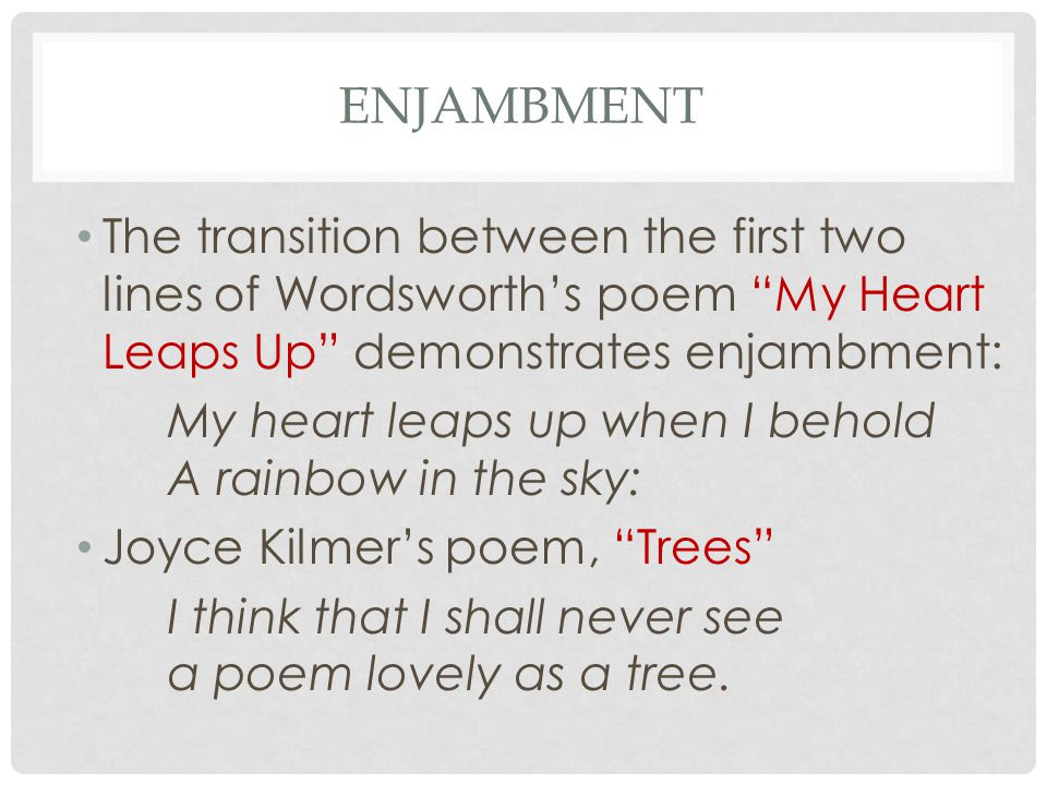 73 Meaning Of Poem My Heart Leaps Up
