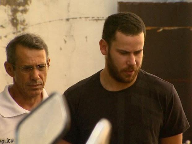 Guilherme Longo, suspeito da morte de Joaquim, diz que não pode se arrepender de algo que não fez (Foto: Carlos Trinca/EPTV)